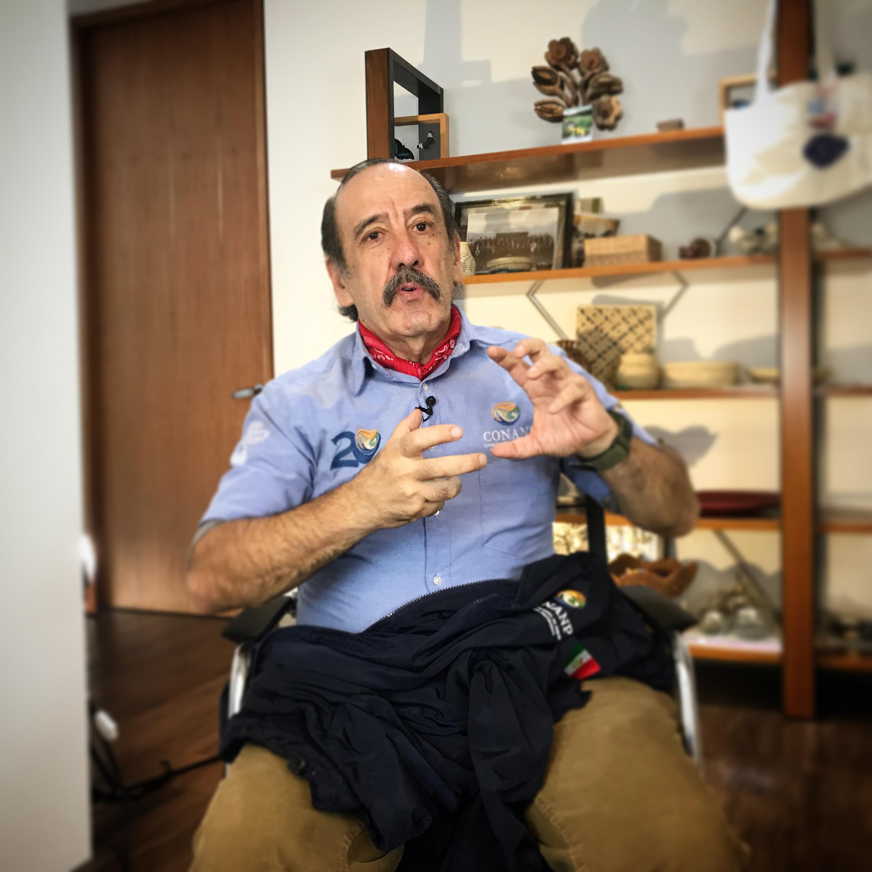 Roberto Aviña Carlín, Titular CONANP