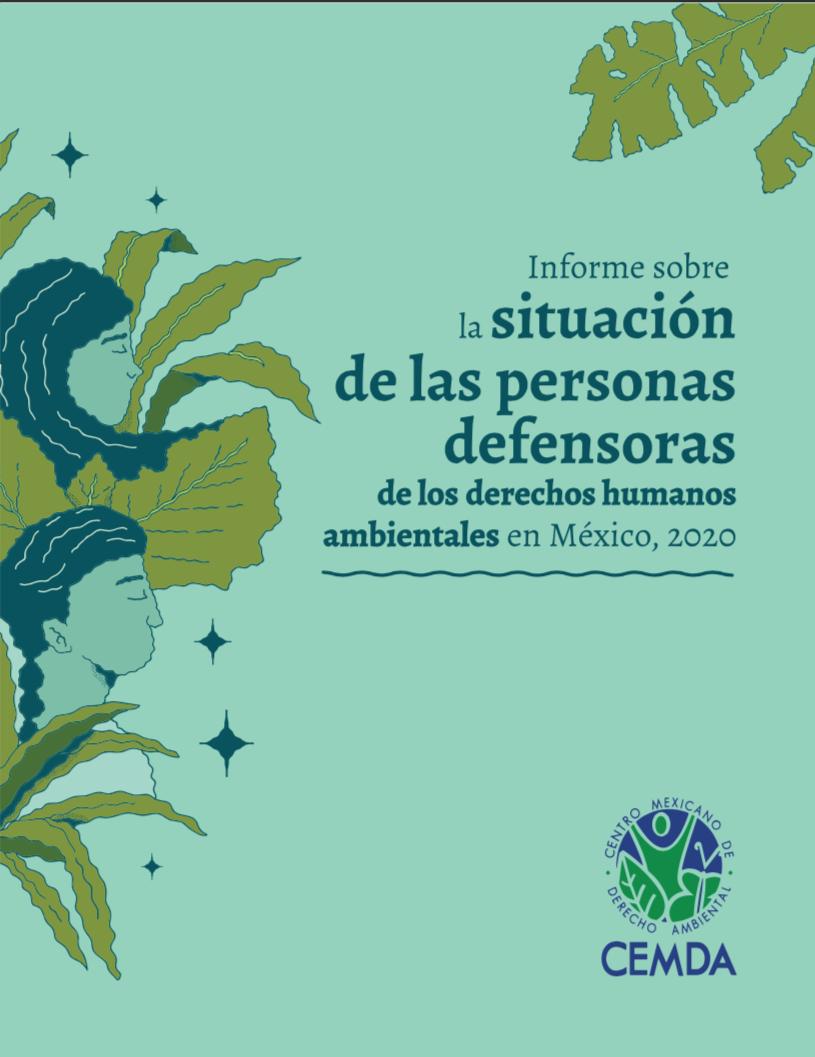 Informe Defensores Ambientales