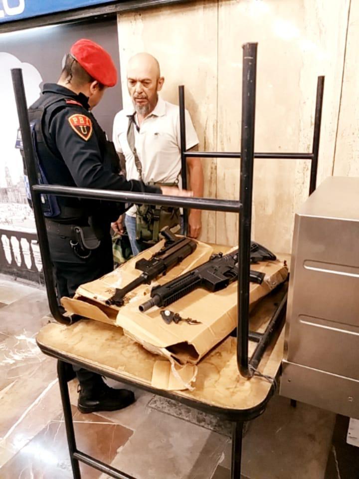 Armas largas metro
