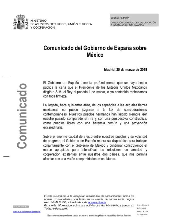 Carta España