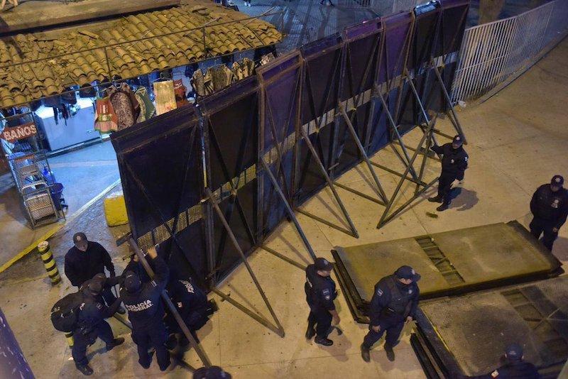 Policía Federal Garita San Ysidro