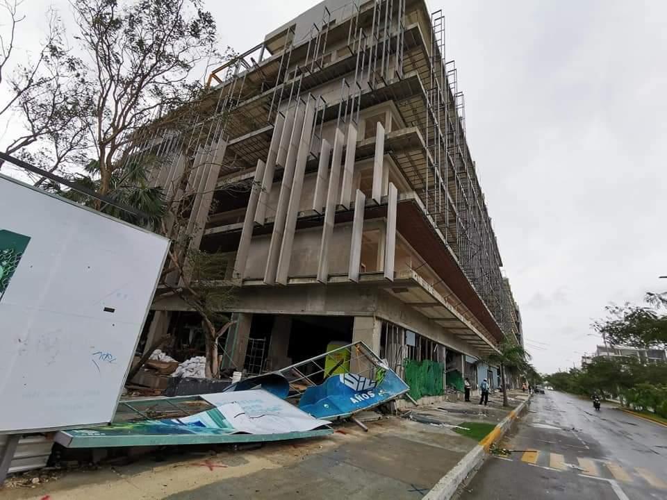 daños en Quintana Roo