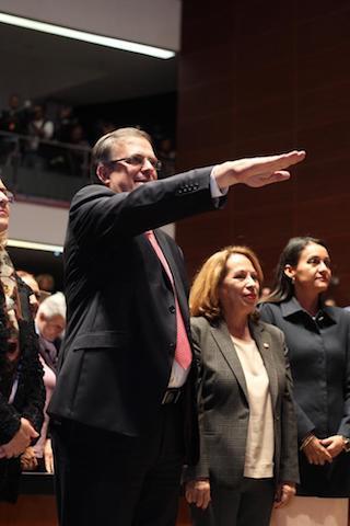 Canciller Marcelo Ebrard