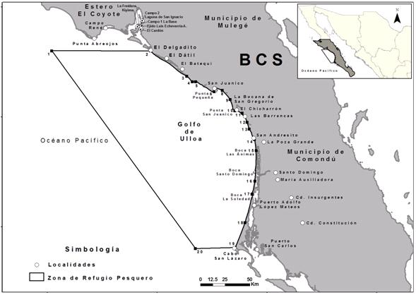 Refugio Pesquero Golfo de Ulloa