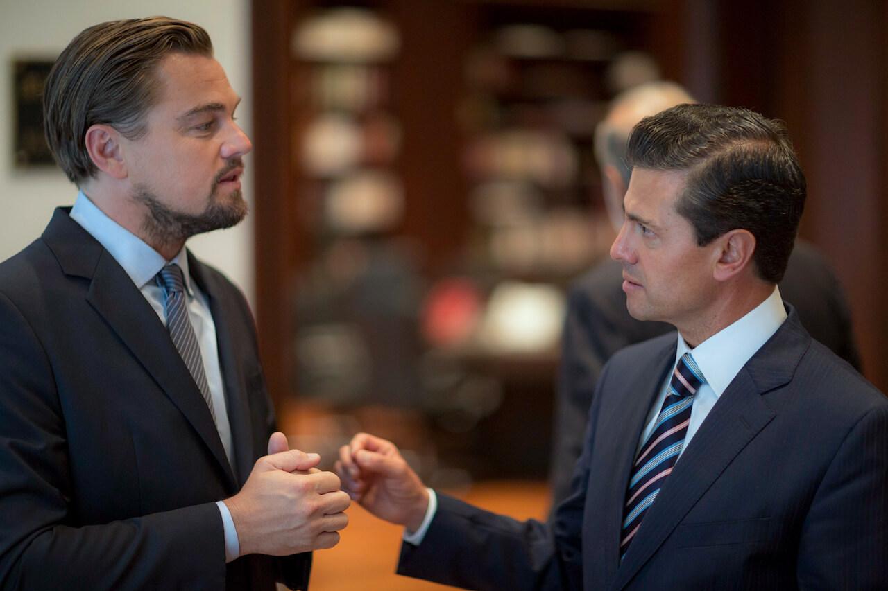 DiCaprio - Peña Nieto