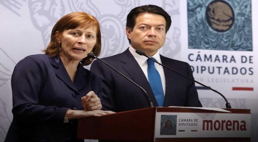 Tatiana Clouthier, Mario Delgado