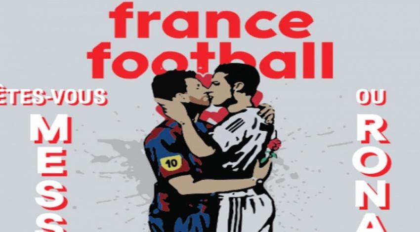Beso Messi Ronaldo