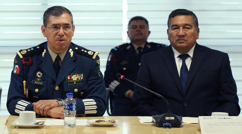 Luis Rodríguez Bucio asumió este miércoles el cargo de comisionado general de la Policía Federal