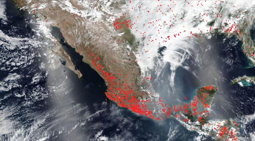 Incendios México