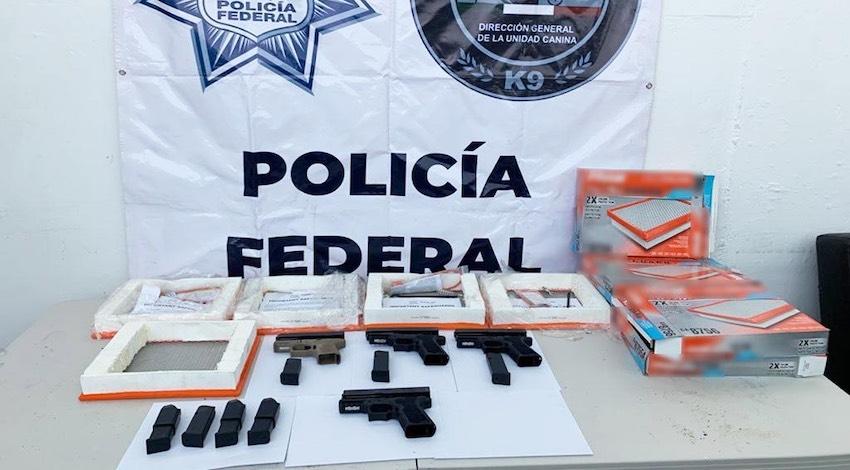 Tráfico de armas Tijuana