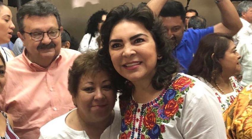 Denuncia Ivonne Ortega amenazas contra ella y su familia