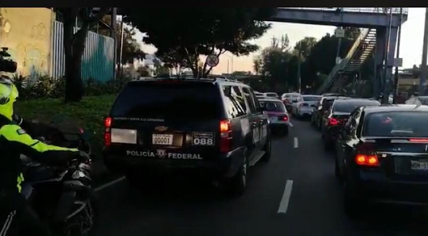 Policía Federal Rosario Robles