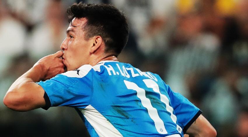 Chucky primer gol Napoli