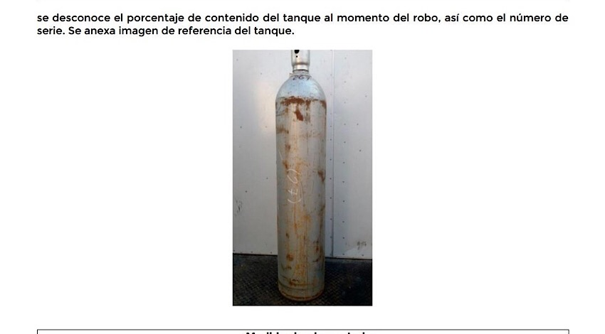 Gas cloro