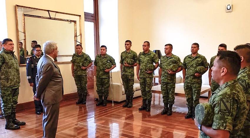 Soldados Huacana