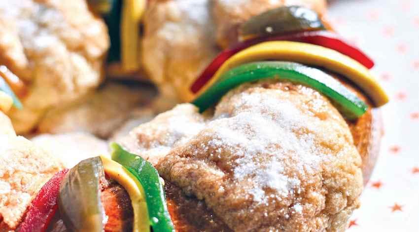 Acitrón Rosca de Reyes
