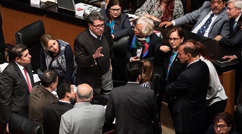 Senado cambios Ley Orgánica de la Administración Pública Federal.