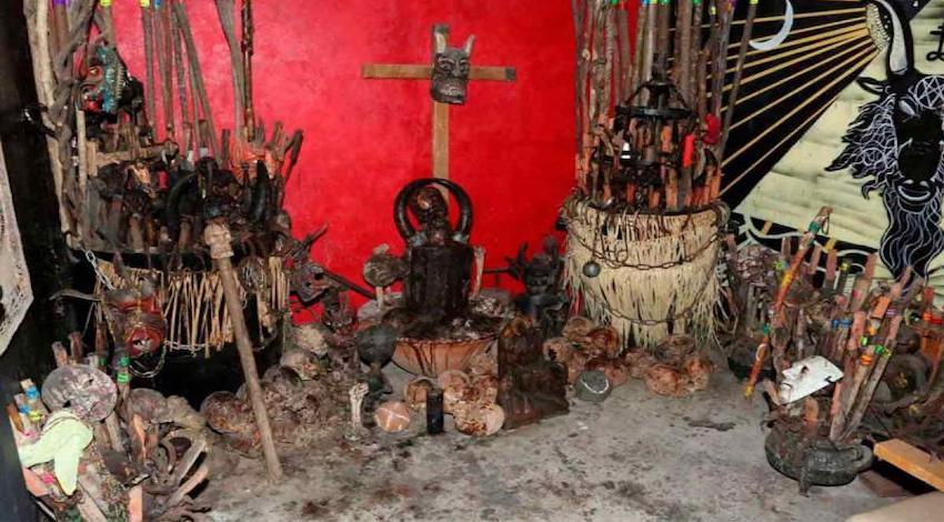 Altar satánico