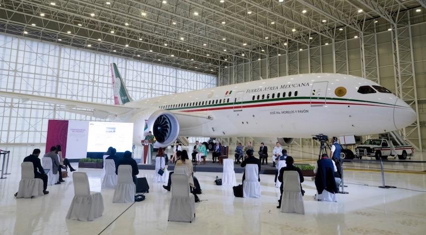 AMLO Avión Presidencial