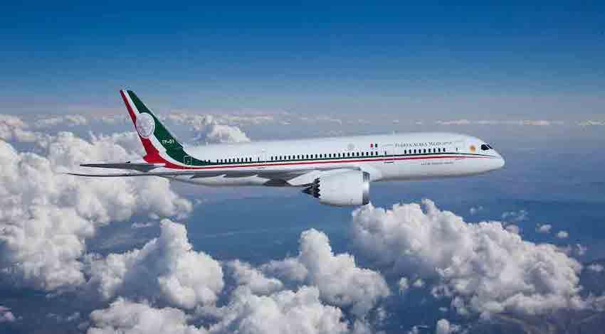 Avión Presidencial TP01