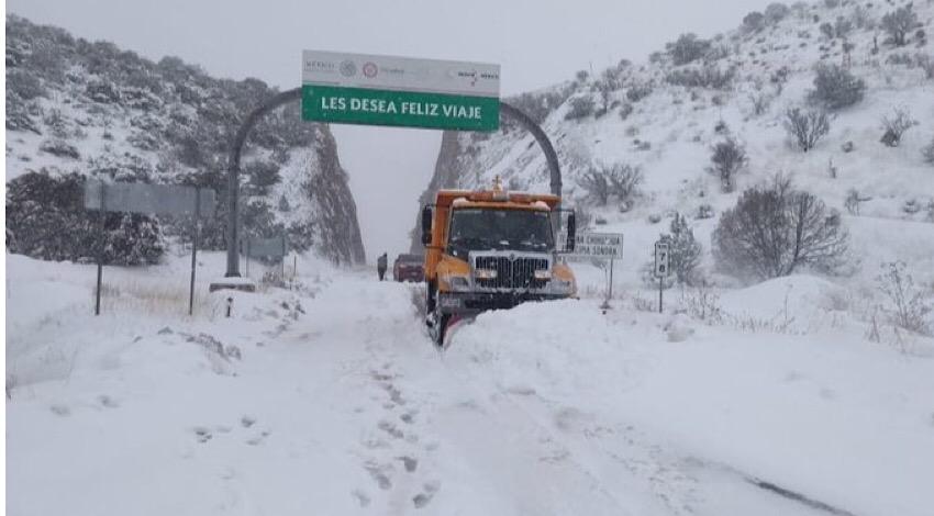 Nieve Sonora Chihuahua