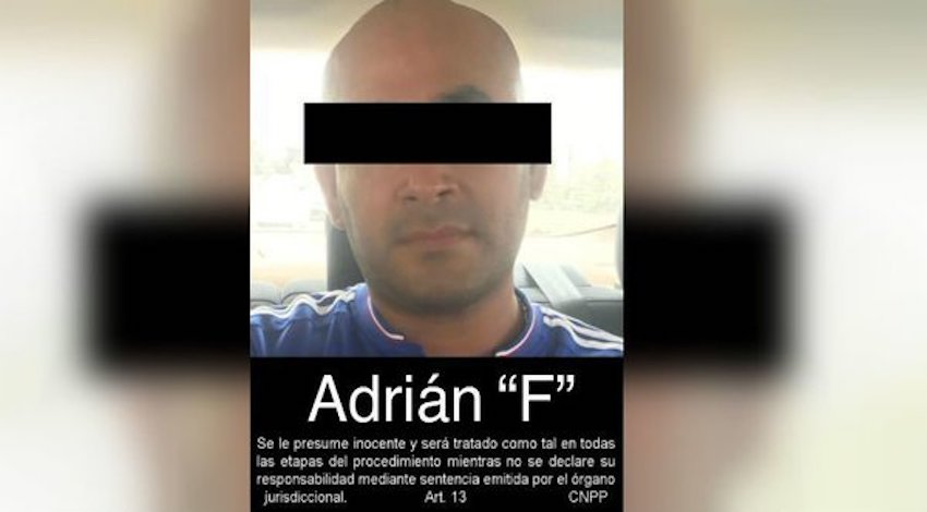 """Adrián Fernández Fernández alías """"El Pelón"""""""