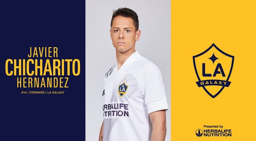 Chicharito al Galaxy