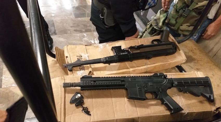 Réplica armas largas Metro CDMX