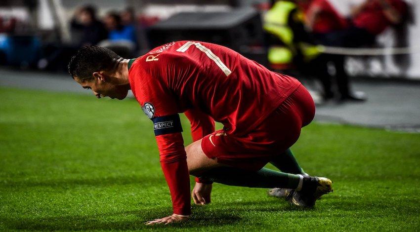 Lesión Cristiano Ronaldo