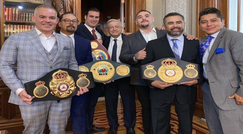 Andy Ruíz Box AMLO