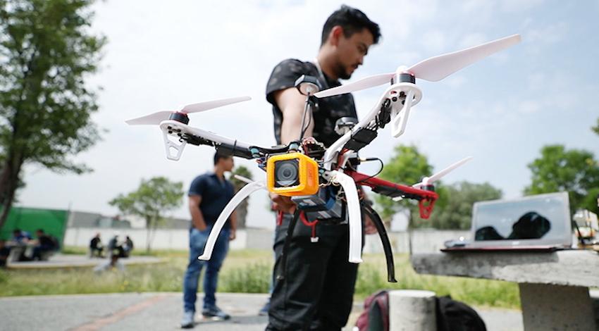 Dron IPN sismos
