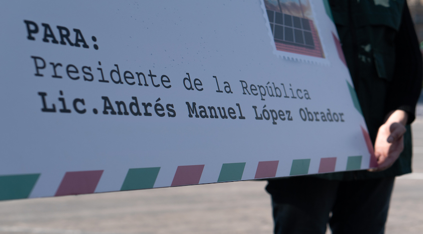 Carta AMLO México justo y verde