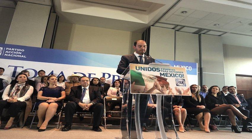 Marko Cortés nuevo líder del PAN