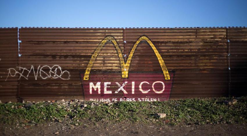 Muro Frontera México - EUA