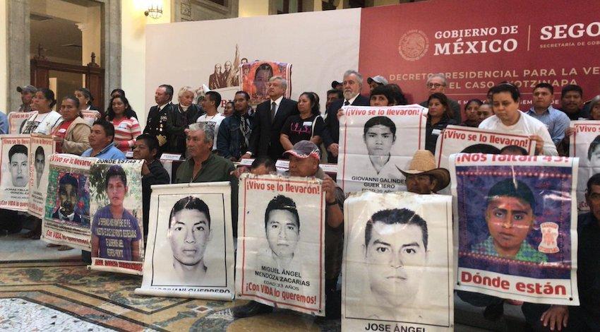 AMLO Caso Ayotzinapa