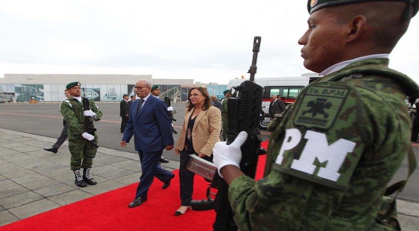 Presidente de la República Árabe Saharaui Democrática, Brahim Ghali