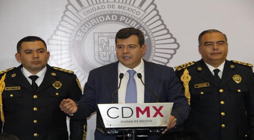 José Ramón Amieva, CDMX
