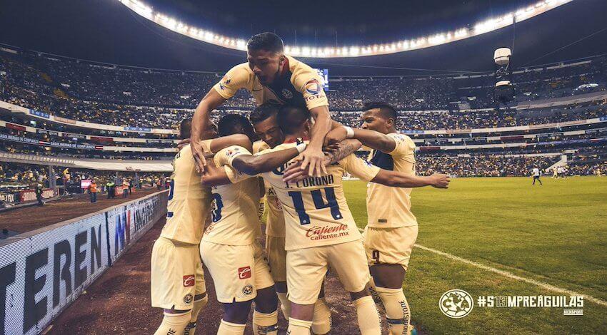 América 6 Pumas 1