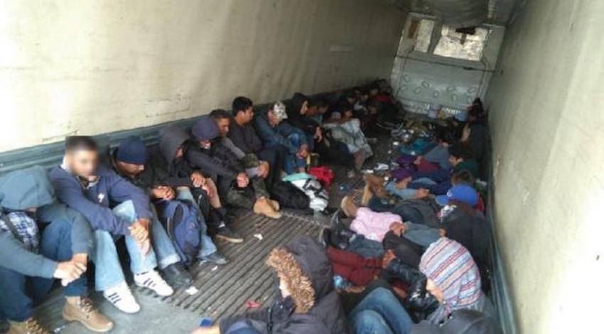 28 migrantes centroamericanos