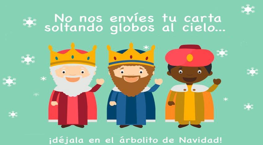 Reyes Magos globos