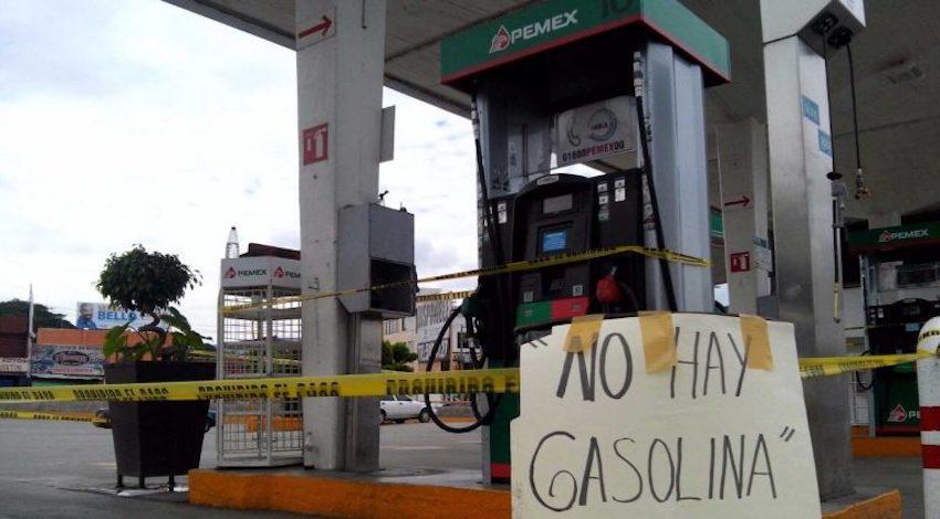 Desabasto Gasolina