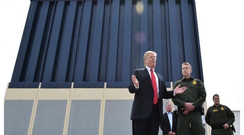 Trump México Frontera Muro
