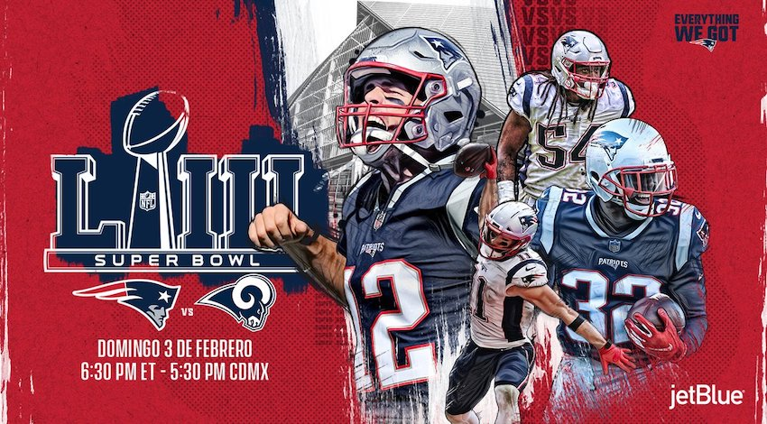 Patriotas va a Super Bowl LIII