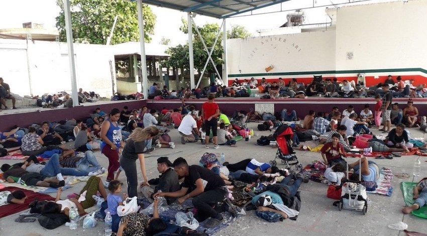 Caravana Migrante Oaxaca