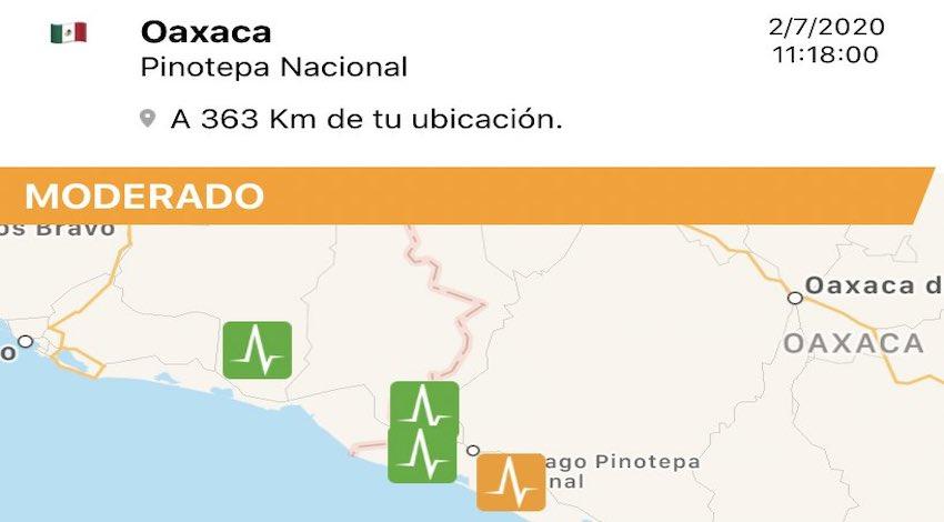 Sismo Oaxaca