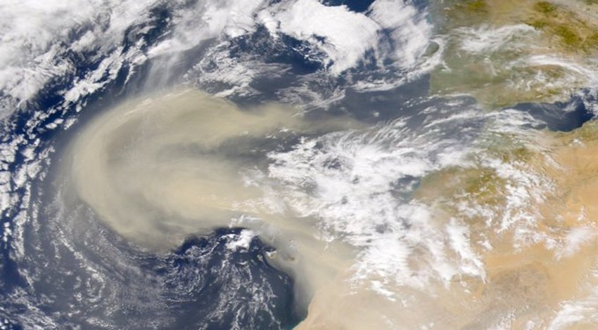 Polvo del Desierto del Sahara