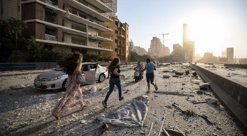 Explosión en Libano