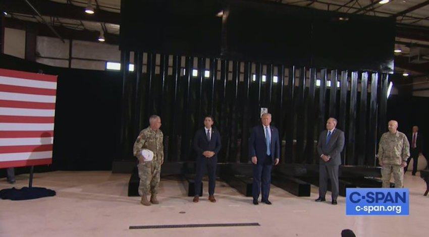 Trump en Yuma, Arizona