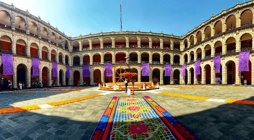 Día de Muertos en Palacio Nacional