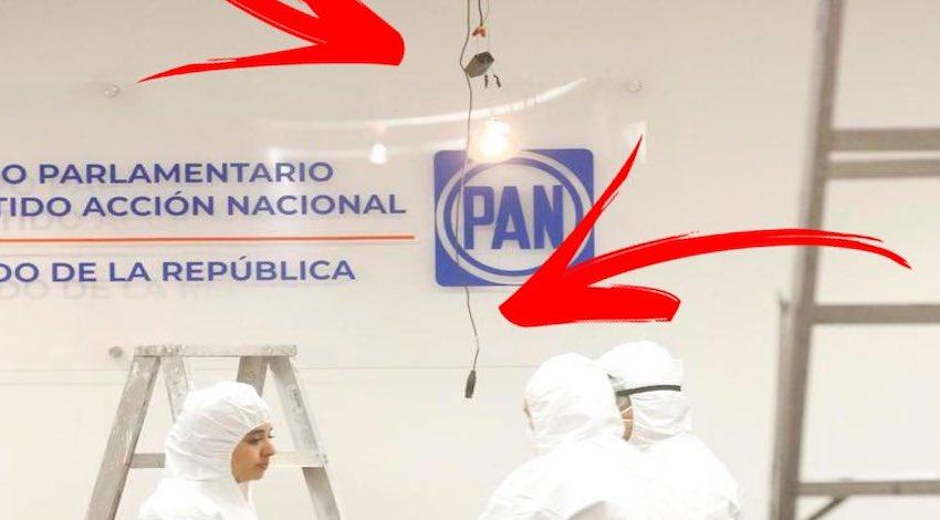 Espionaje PAN